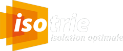 Isotrie, isolation optimale - logo site blanc